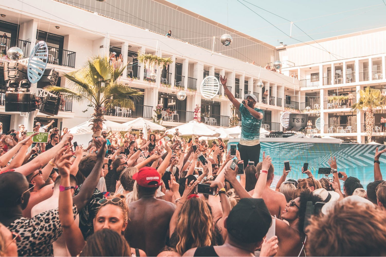 Craig David TS5 Ibiza Rocks Hotel 2019