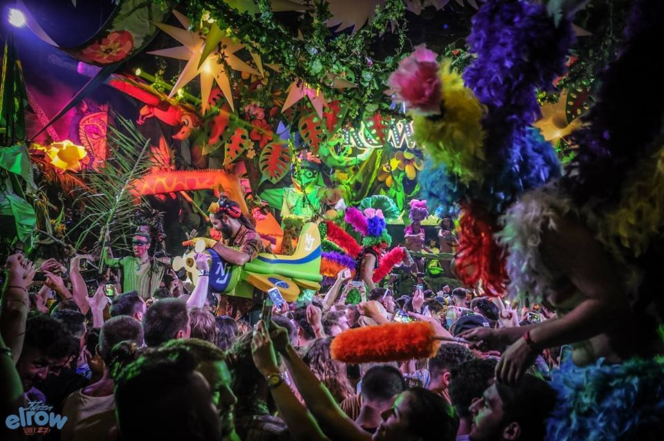 Elrow Amnesia Ibiza 2020 on Saturday nights