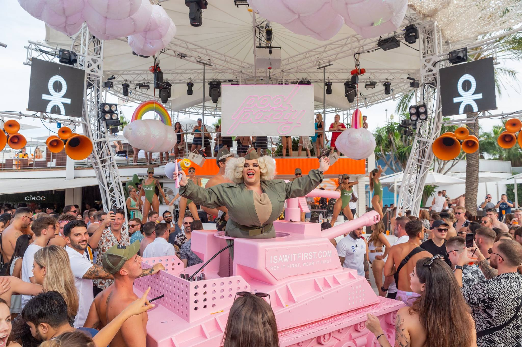 Pool Party O Beach Ibiza 2019