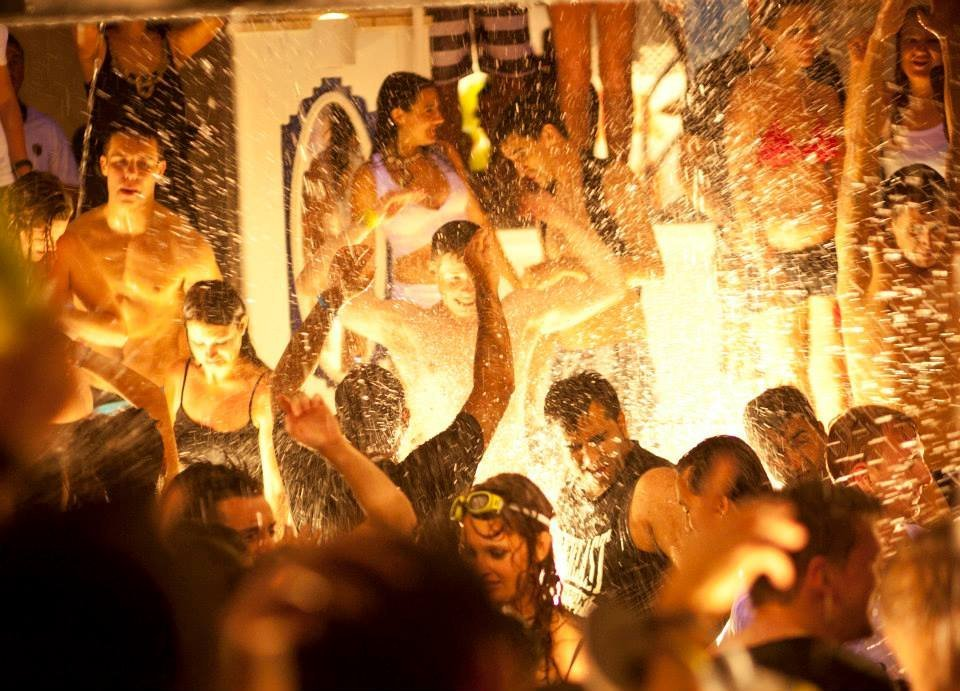 Fiesta del Agua Water Party Es Paradis