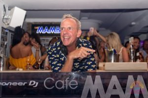 Fatboy Slim at Cafe Mambo Ibiza