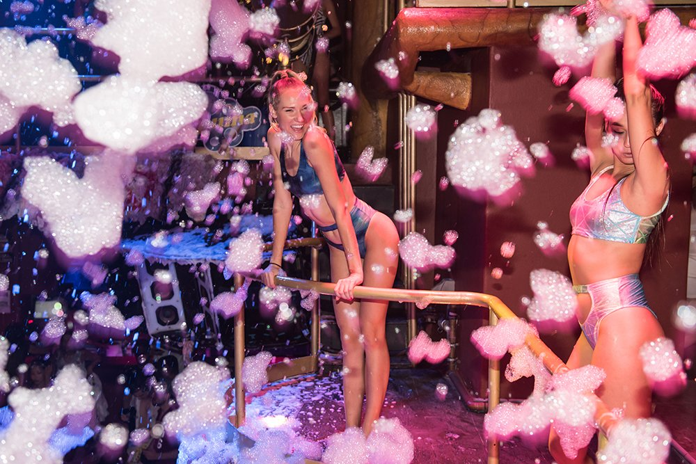 La Espuma Foam Party Amnesia Ibiza