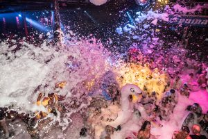 La Espuma Foam at Amnesia party extends its season