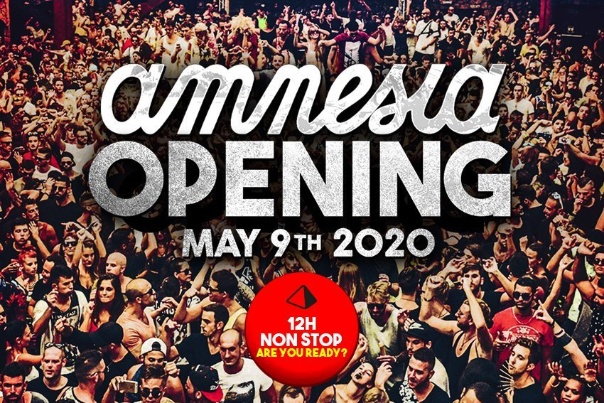 Amnesia Opening Party 2020
